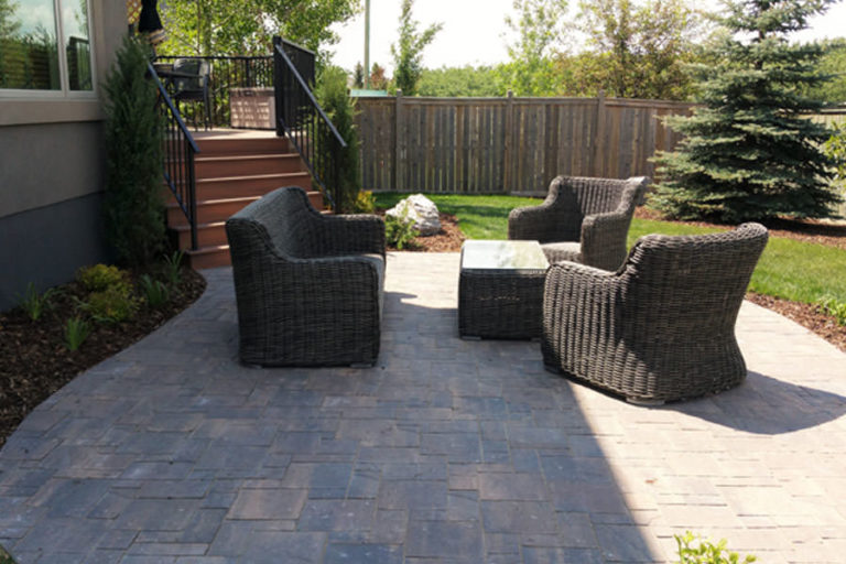 Backyard Patio and Composite Deck