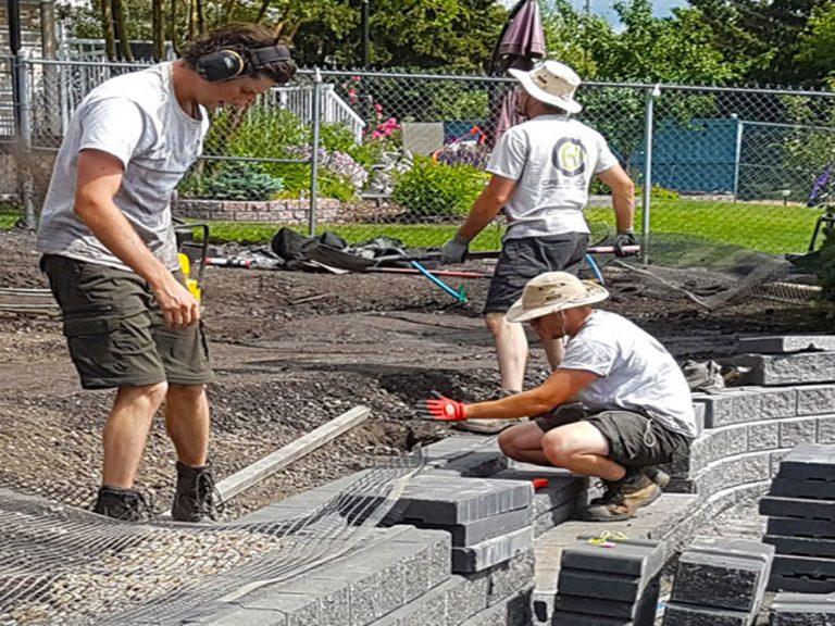 Landscape Construction Crew