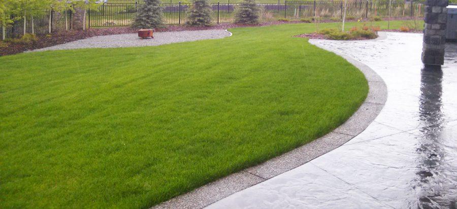 Green Lawn Irrigation