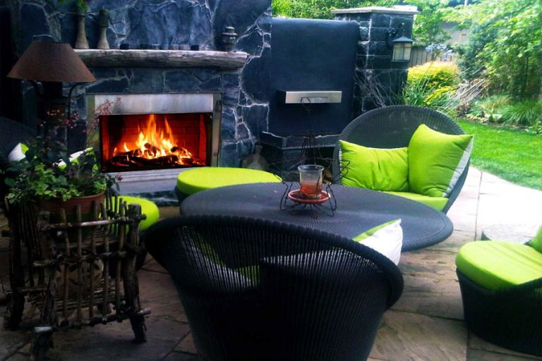 Outdoor Fireplace Chairs