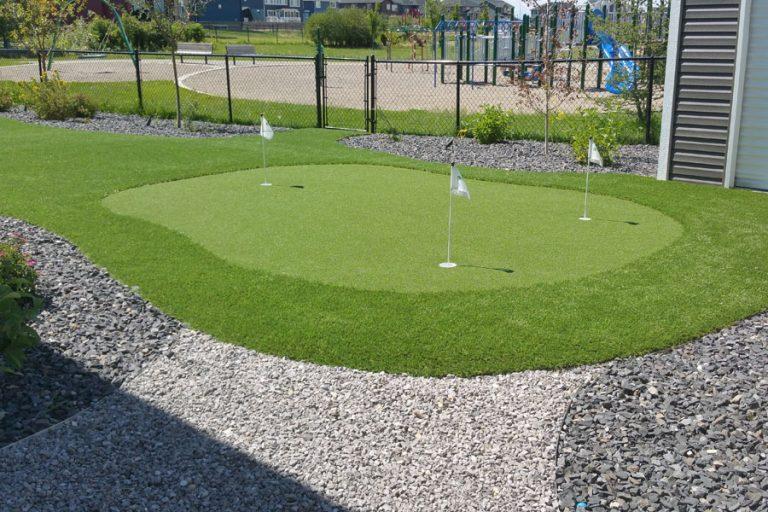 Putting Green Backyard
