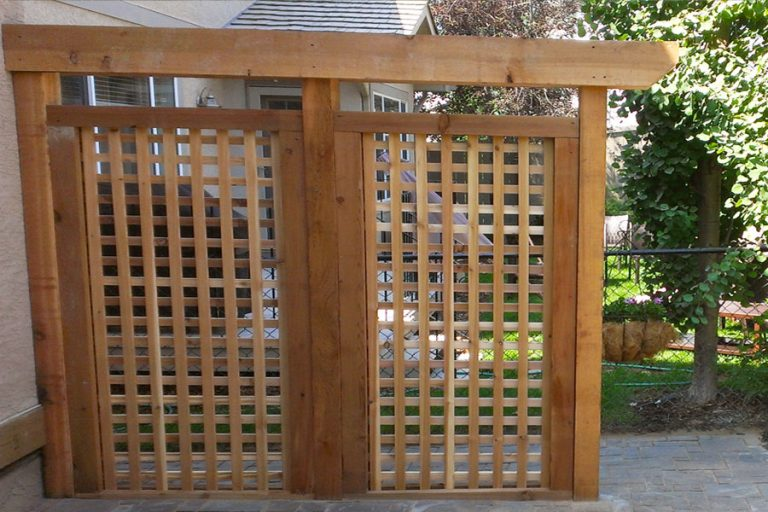 Lattice Privacy Screen